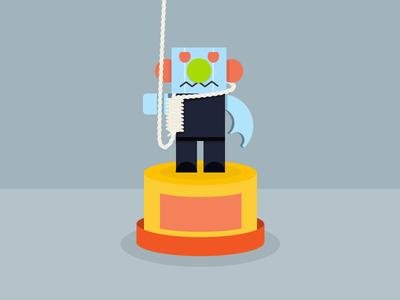 Toy Illustration hanging toy illustration