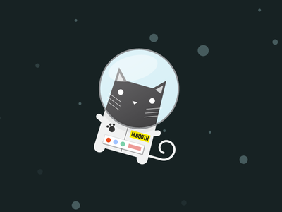 Cat in Space ^^ cat space astronaut kitty flying