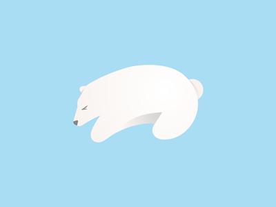 Polar Bear polar bear illustration adobe illustratior