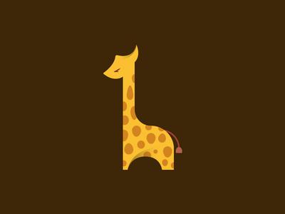 Giraffe illustration giraffe adobe illustrator
