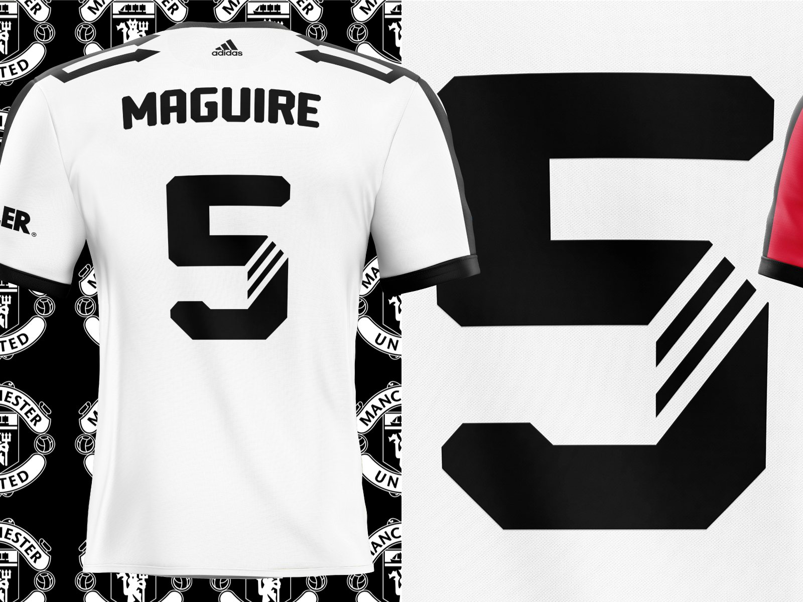 MUFC ADIDAS JERSEY DESIGNS by Alphabet Agency on Dribbble
