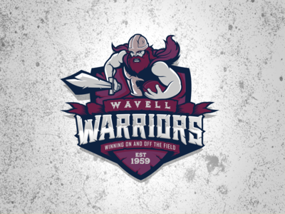 Wavell Warriors Rugby Logo