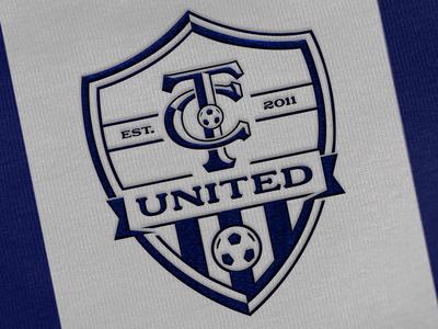 TC United Football Club Crest Design