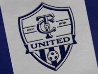 TC United Football Club Crest Design