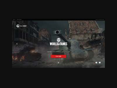 Wargaming.net after effects typography graphic brand interface animation web interaction digital design