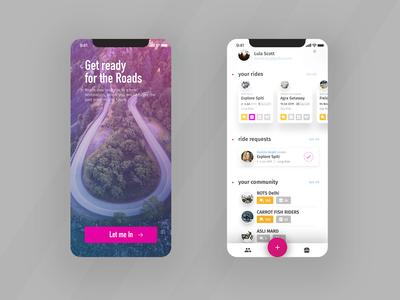 Ride starters ux kit ui redesign xr xs iphone iphone x design ios app