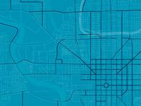 WIP 370 sq. miles of roads and bike paths