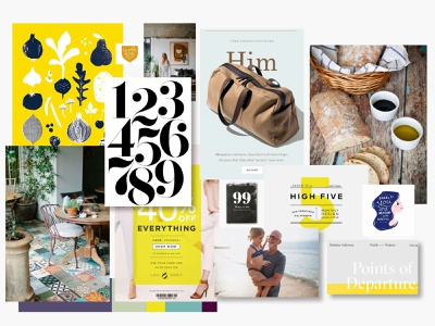 NFE Mood Boards 2 ux illustration web typography