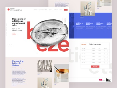Breeze Home Page booking ticket design travel home page design typography ux ui web
