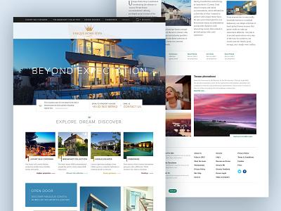 Unique Homestays  - 2012 branding luxury luxury brand webdesign travel ux ui web