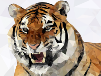 Tiger (low poly)