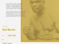 Boxing Poster - Bennie Briscoe