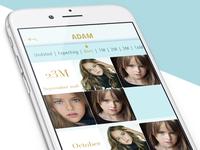 iPhone album app