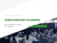 Landing page Stem Education