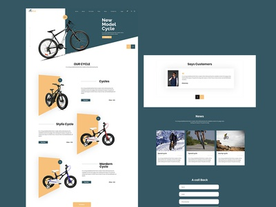 Cycle Shop -Template