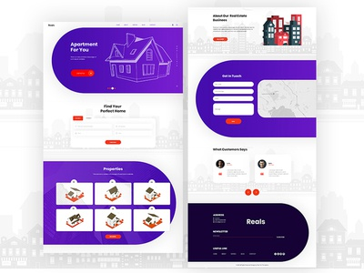 Real Estate-Business Template