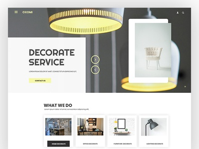 Home Decorate - Website template