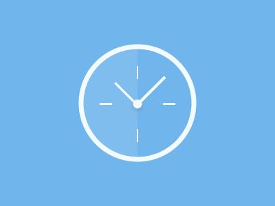 Clock clock icon illustrator