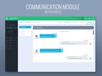 Inside communication module