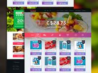 Supermarket Flat Website