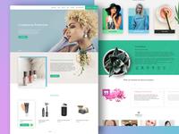 Cosmetics Ecommerce