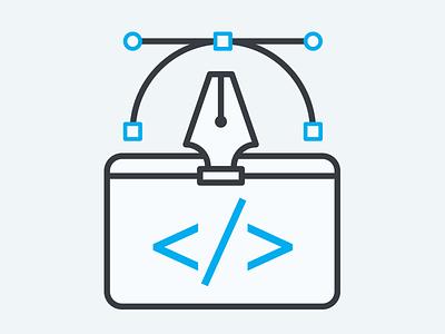 Design & Development development design illustration icon