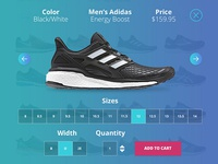 Quick Look Overlay for Running Shoe Retailer