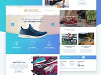 Ecommerce Redesign for Road Runner Sports