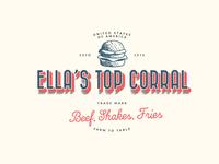 Logo Concept for Ella's Top Corral