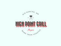 Logo Concept for High Point Grill