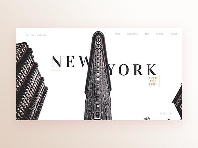Flatiron LP typography ui webdesign web design web simplistic minimal landing design landing page landing clean