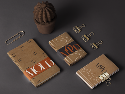 Möld Coffee House packaging modern branding modern mockup coffee shop branding coffee shop branding bold