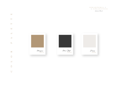Color Palette Design logo modern