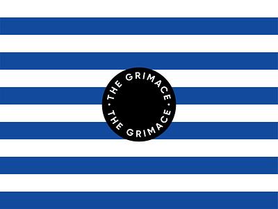 "Blueburn ""The Grimace"" Coffee Branding Details simplistic coffee shop branding coffee shop modern branding bold american design vintage branding modern"