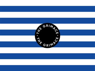 "Blueburn ""The Grimace"" Coffee Branding Details"