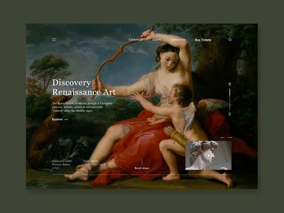 Museum - Landing Page Exploration