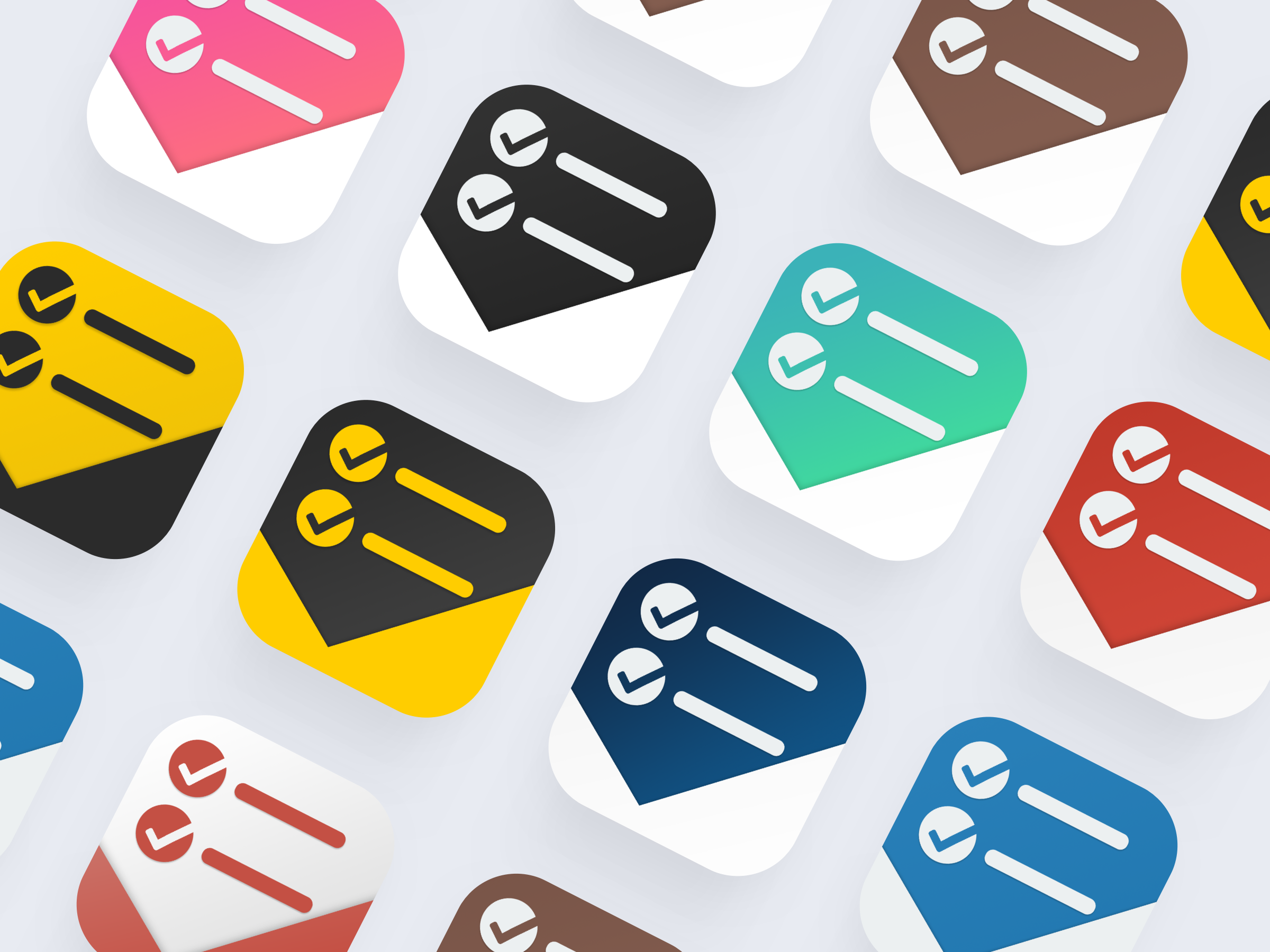 Toodoo app icon colors