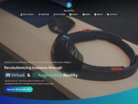 VR & AR Landing Page