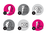 User Journey Icons