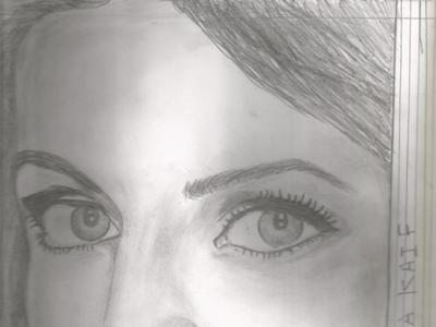 Sketch Katrina Kaif