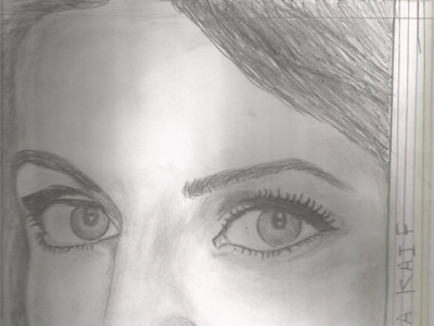 Sketch Katrina Kaif design