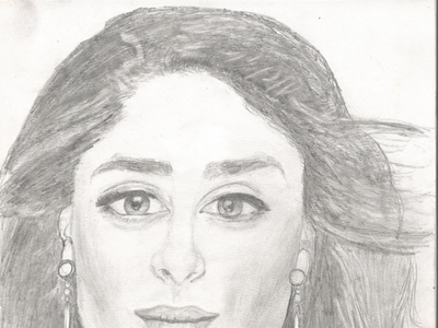 Sketch Kareena Kapoor Khan design