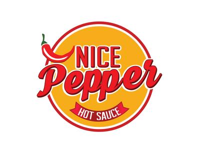 Nice Pepper Logo design.