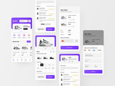 SHOPIN E-Commerce App online store ecommerce online shopping delivery business online shop best dribbble shot mobile app design ux ui