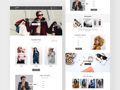 Fashion Ex. e-commerce website