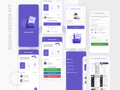 Cv Maker Designs Themes Templates And Downloadable Graphic Elements On Dribbble