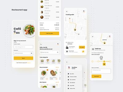Restaurant app popular design restaurant app mobile cafe cafeteria food ordering app food app restaurant app app design ux ui