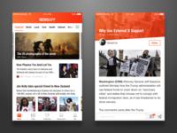 NewsApp UI