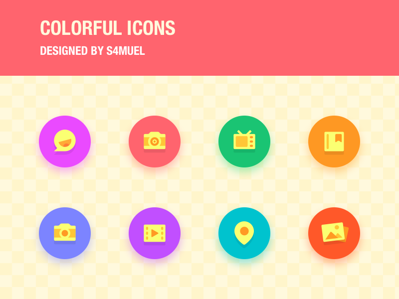Colorful Icons icons colorful