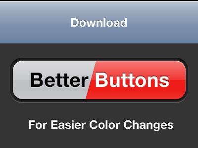 Better Buttons buttons ios template toolbar navbar